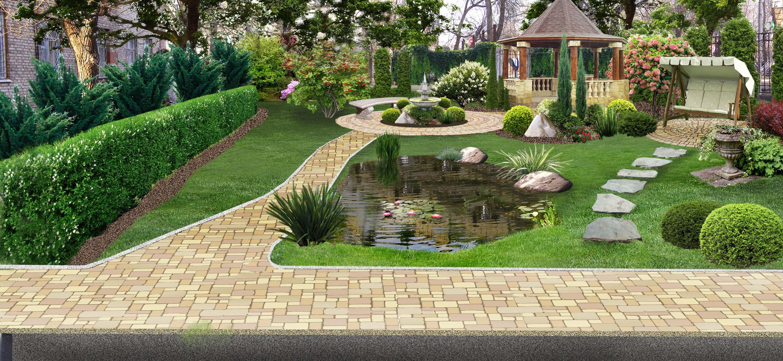 дизайн садовый фото